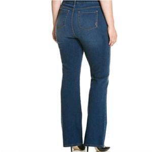 Style & Co. Boot Leg Tummy Control Jeans…